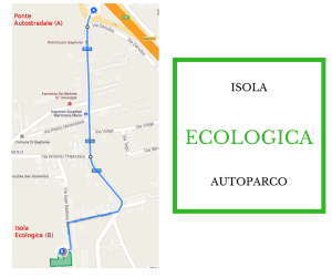 isola ecologica autoparco