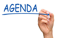 http://www.dreamstime.com/stock-photo-hand-writing-word-agenda-woman-white-screen-copy-space-image36001360