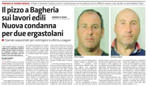 GDS 30-05-2018 Il pizzo a Bagheria